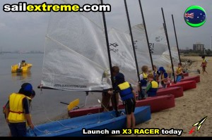 X3-Sailng-dinghy-fleet-racing-Mebourne