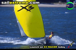 X3-sailing-dinghy-X3-Fun+Fun-Gennaker