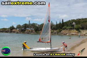X3-sailing-dinghy-beach-landing