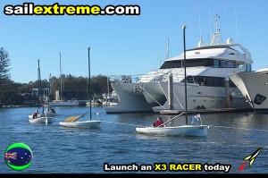 Towing-sailing-dinghy-fleet