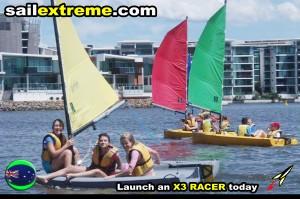 southport-yacht-club-X3-sail-training